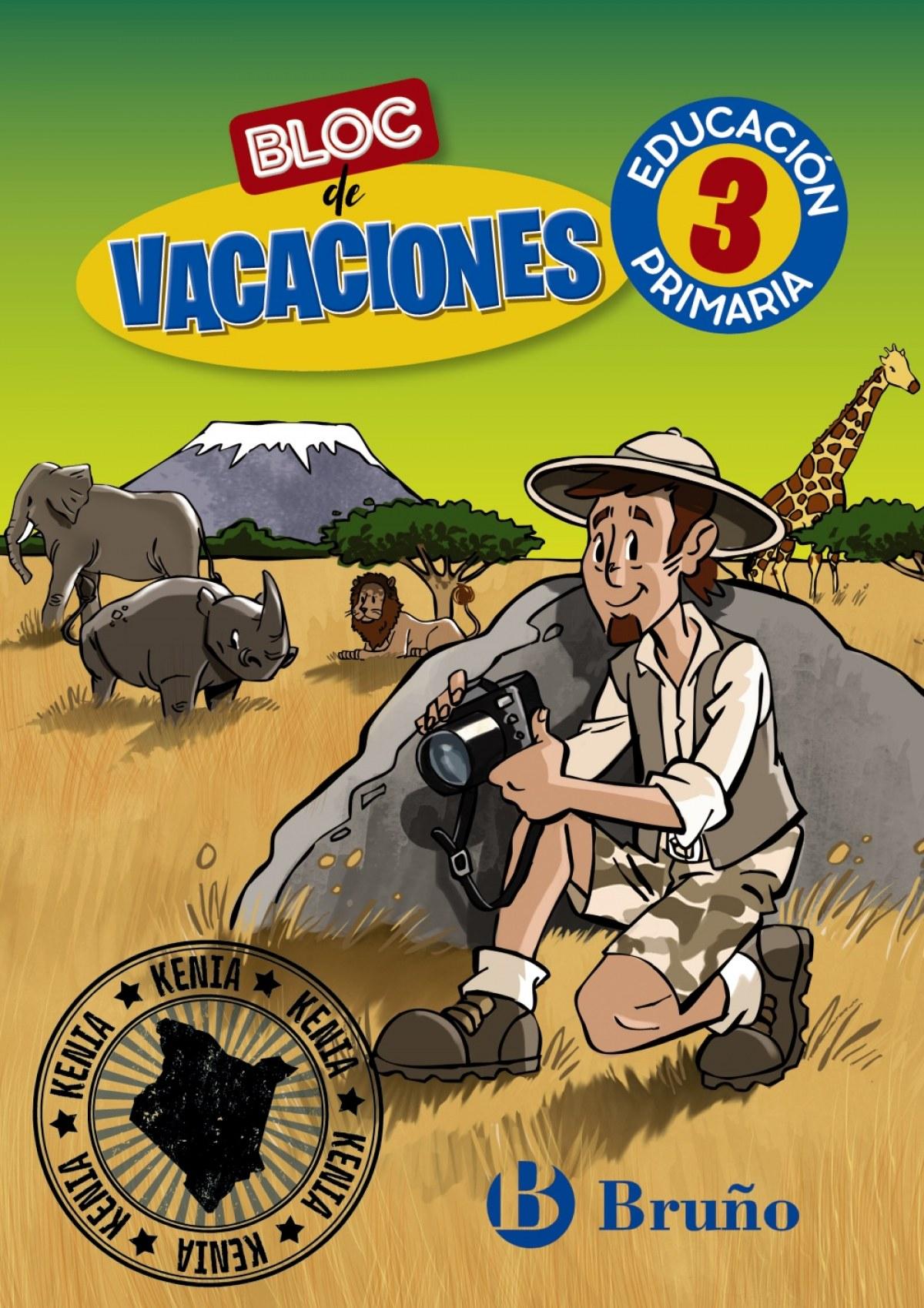 Bloc de vacaciones 3 9788469630136