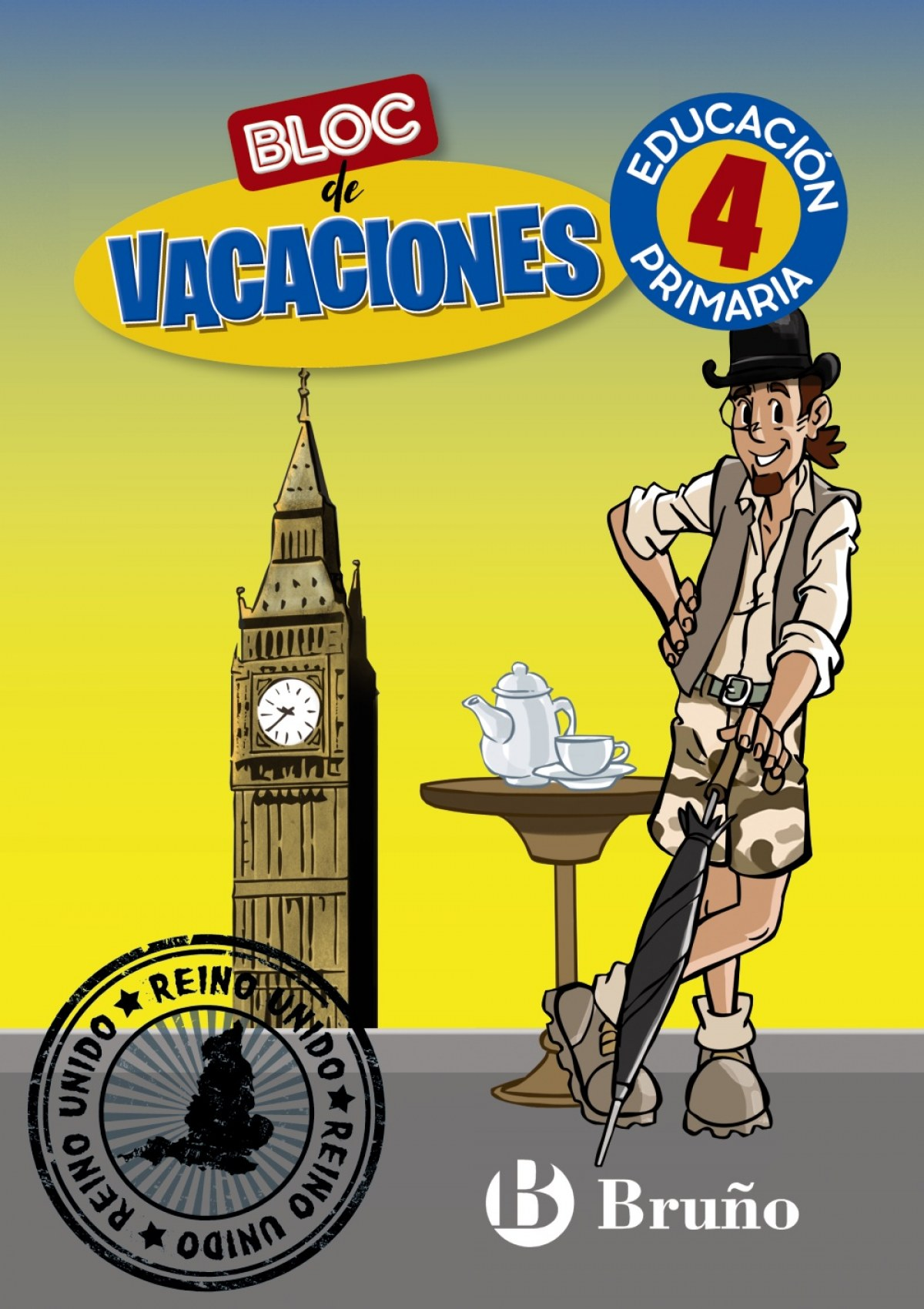 Bloc de vacaciones 4 9788469630143