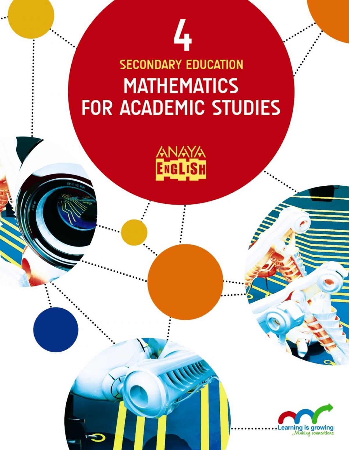 Mathematics for academic studies 4o.eso 2017 9788469832271