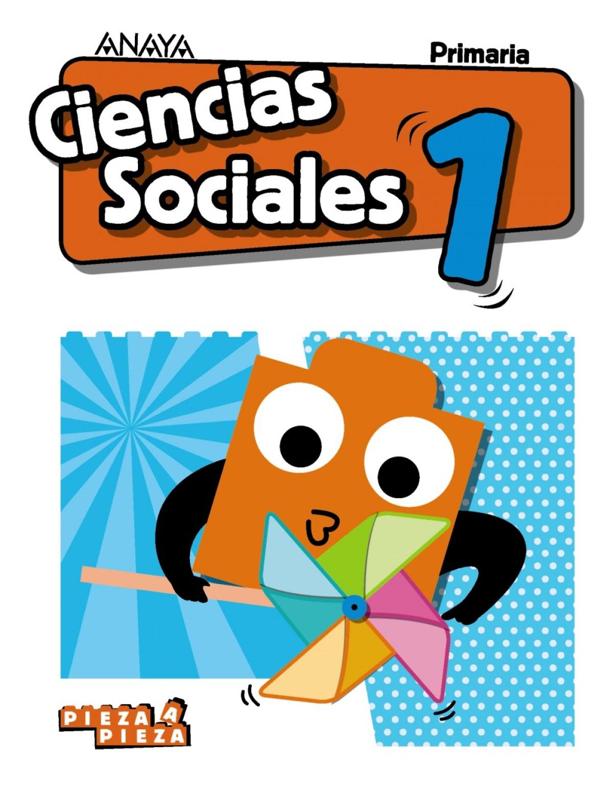 CIENCIAS SOCIALES 1o.PRIMARIA. PAUTA. PIEZA A PIEZA 9788469839140