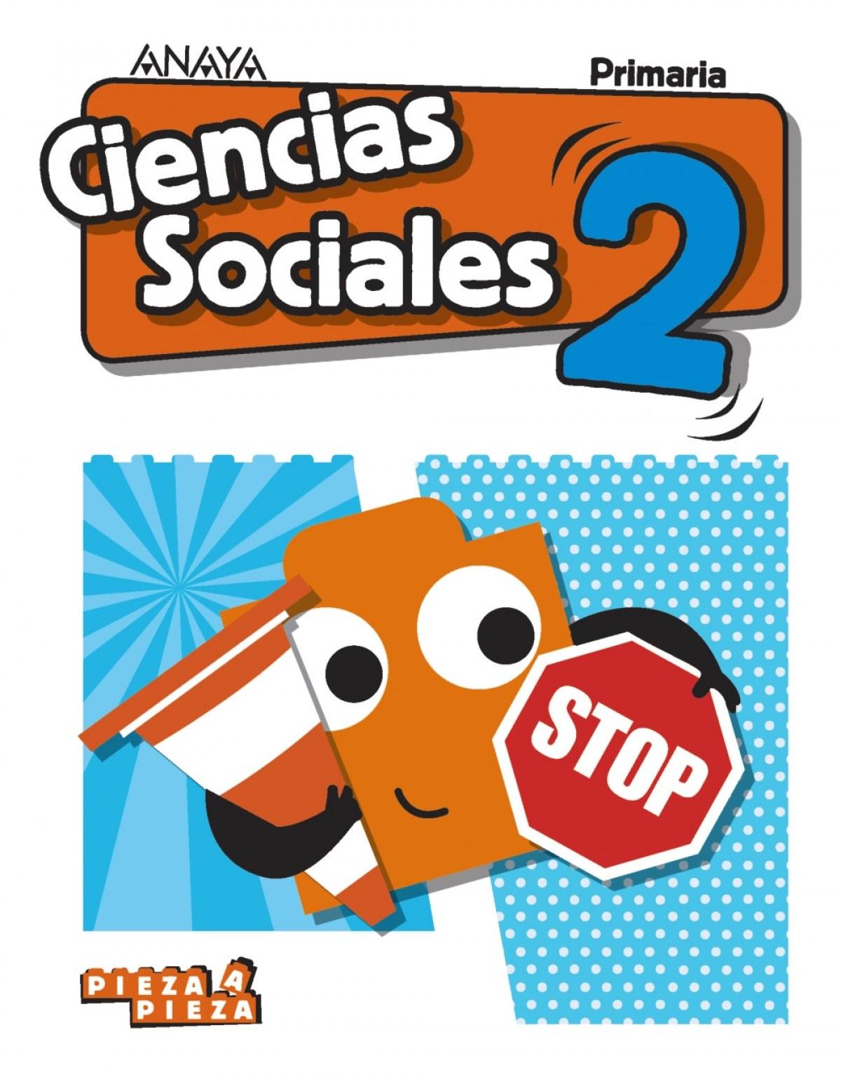 CIENCIAS SOCIALES 2o.PRIMARIA. PIEZA A PIEZA. MURCIA 9788469839270