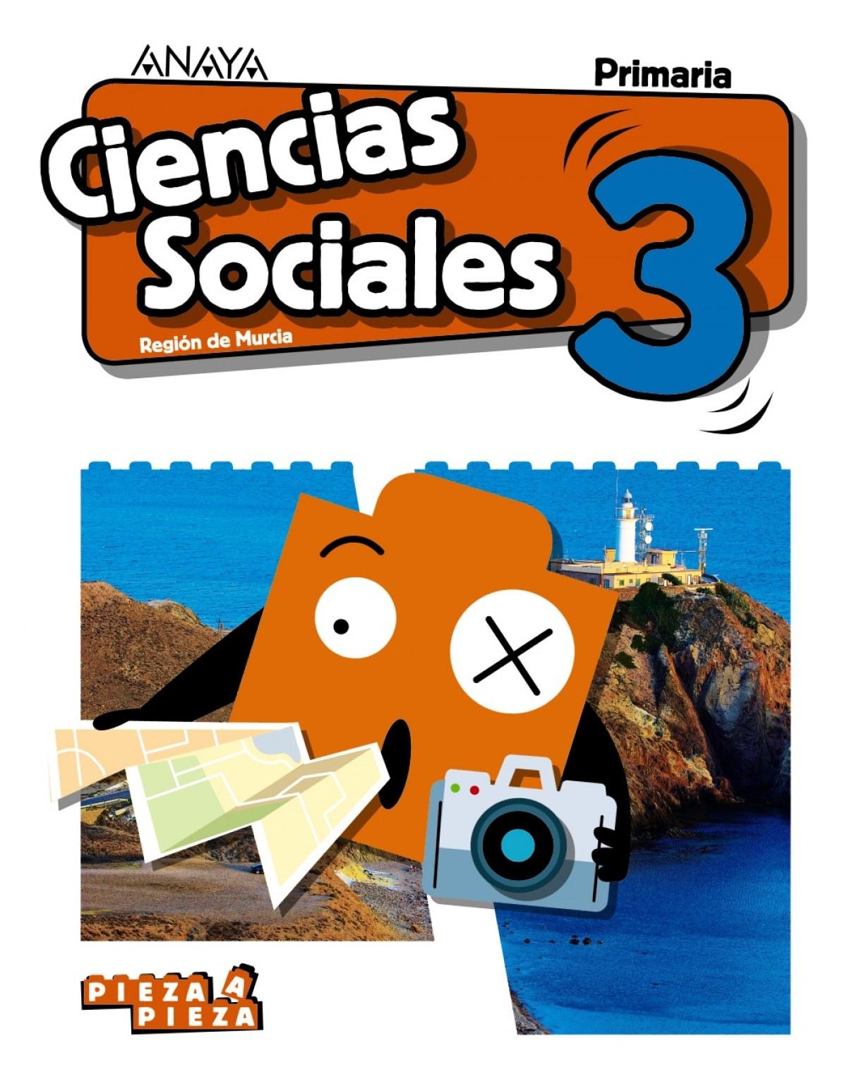CIENCIAS SOCIALES 3o.PRIMARIA. PIEZA A PIEZA. MURCIA 9788469842751