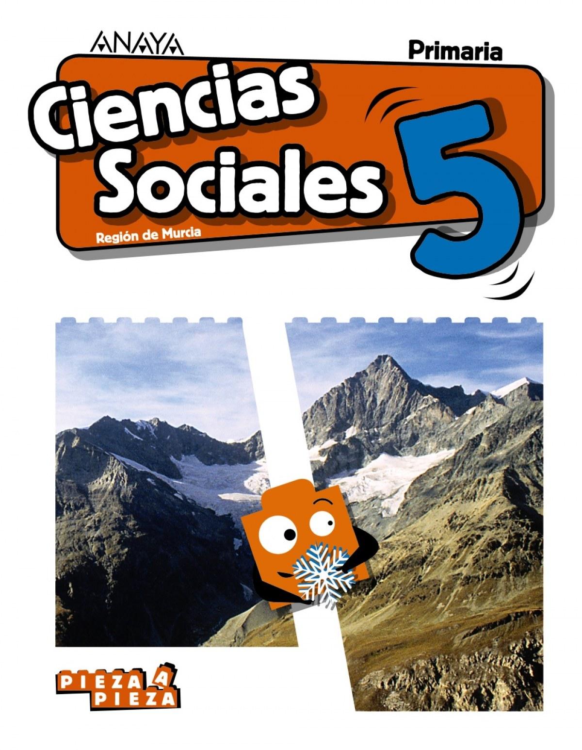 CIENCIAS SOCIALES 5o.PRIMARIA PIEZA A PIEZA MURCIA 9788469855621