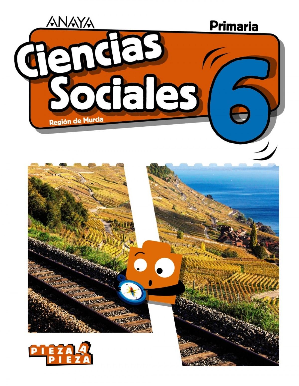 CIENCIAS SOCIALES 6o.PRIMARIA PIEZA A PIEZA MURCIA 9788469855676