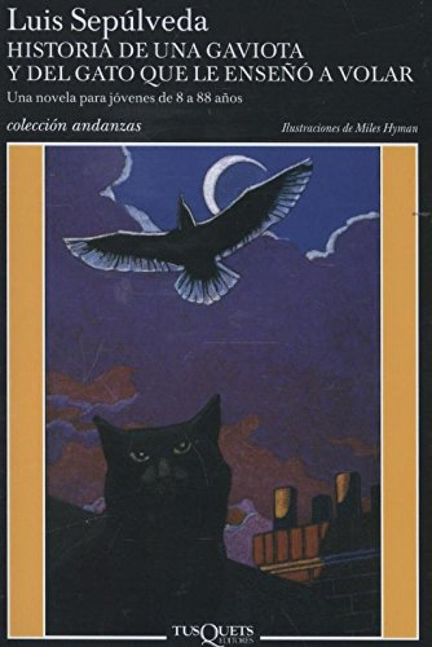 Historia de una gaviota y del gato que le enseñó a volar 9788472237964