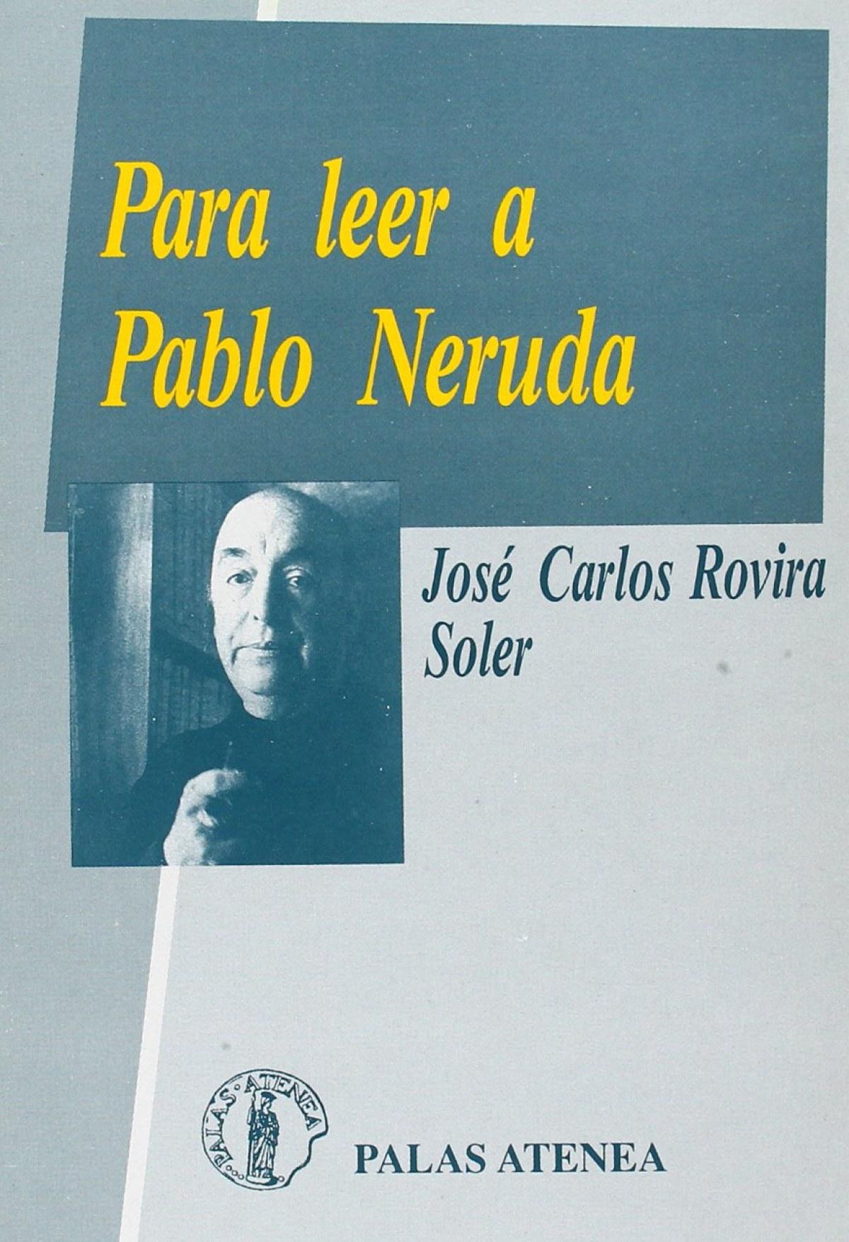Para leer a Pablo Neruda 9788478170166