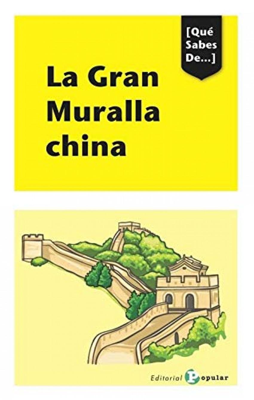 LA GRAN MURALLA CINA 9788478847808