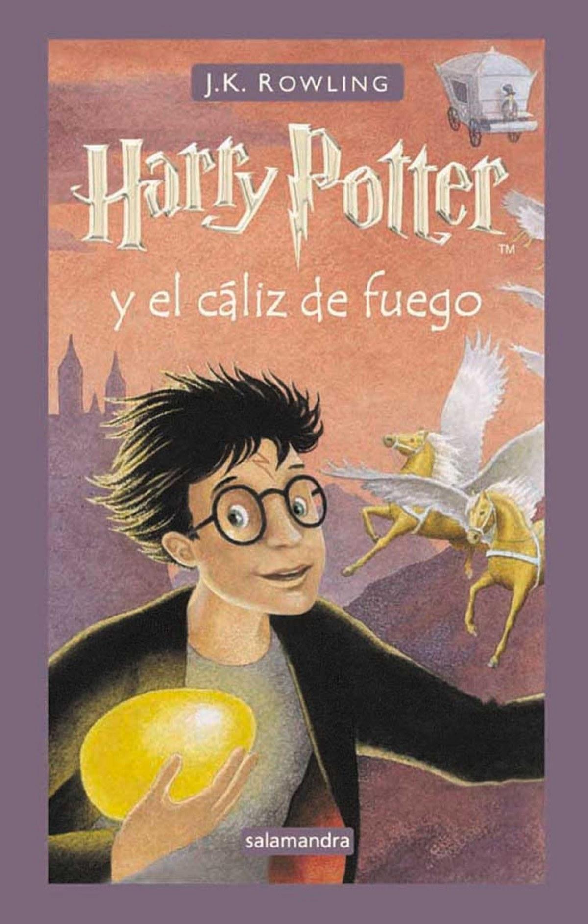Harry potter y el caliz de fuego 9788478886456