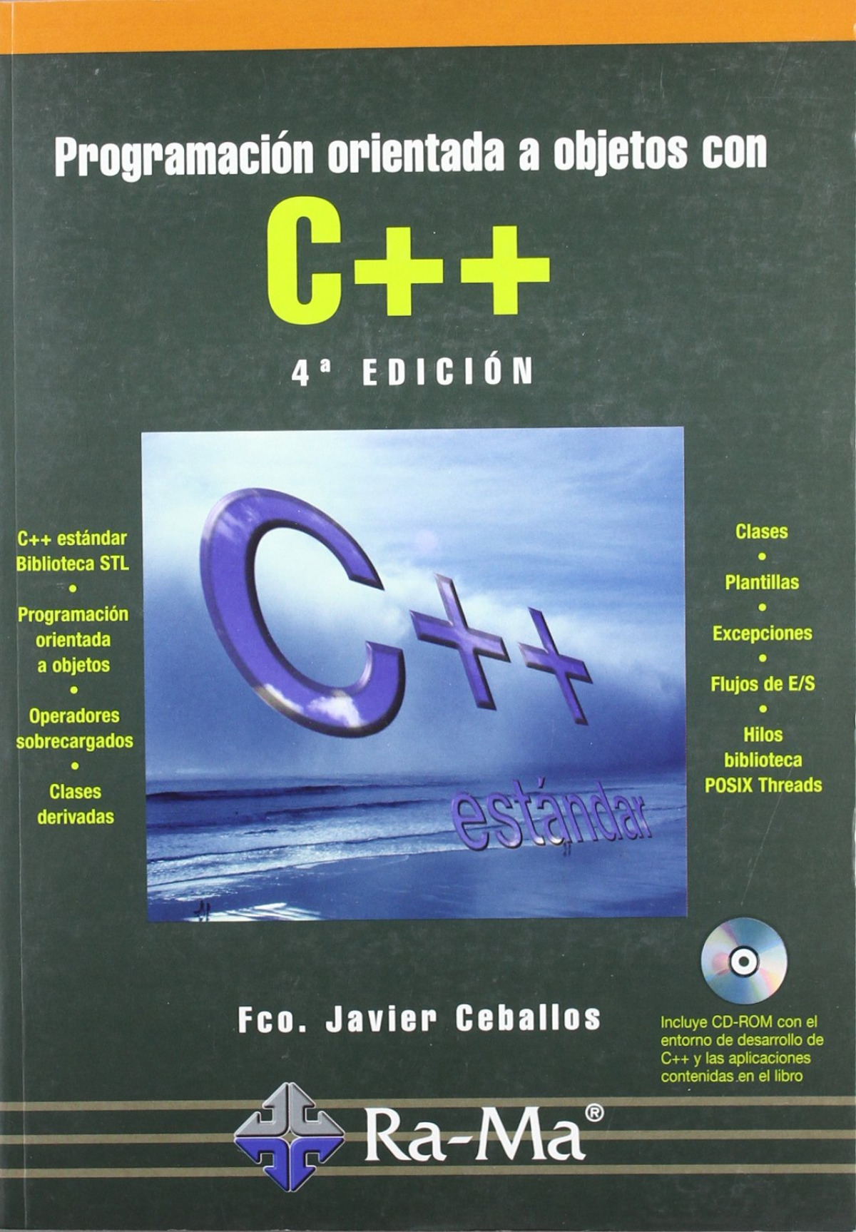 PROGR.ORIENTADA OBJETOS C++ (4a. ED.) (+CD) 9788478977611