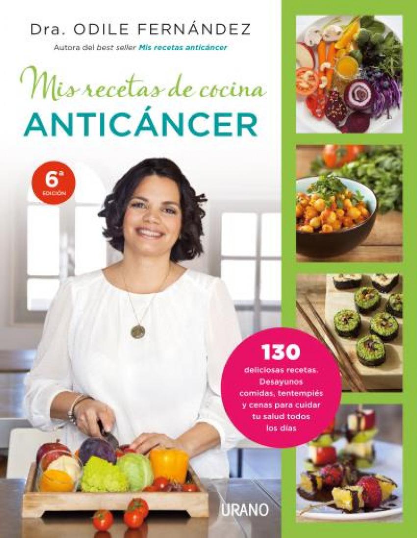 Mis recetas de cocina anticancer 9788479538729