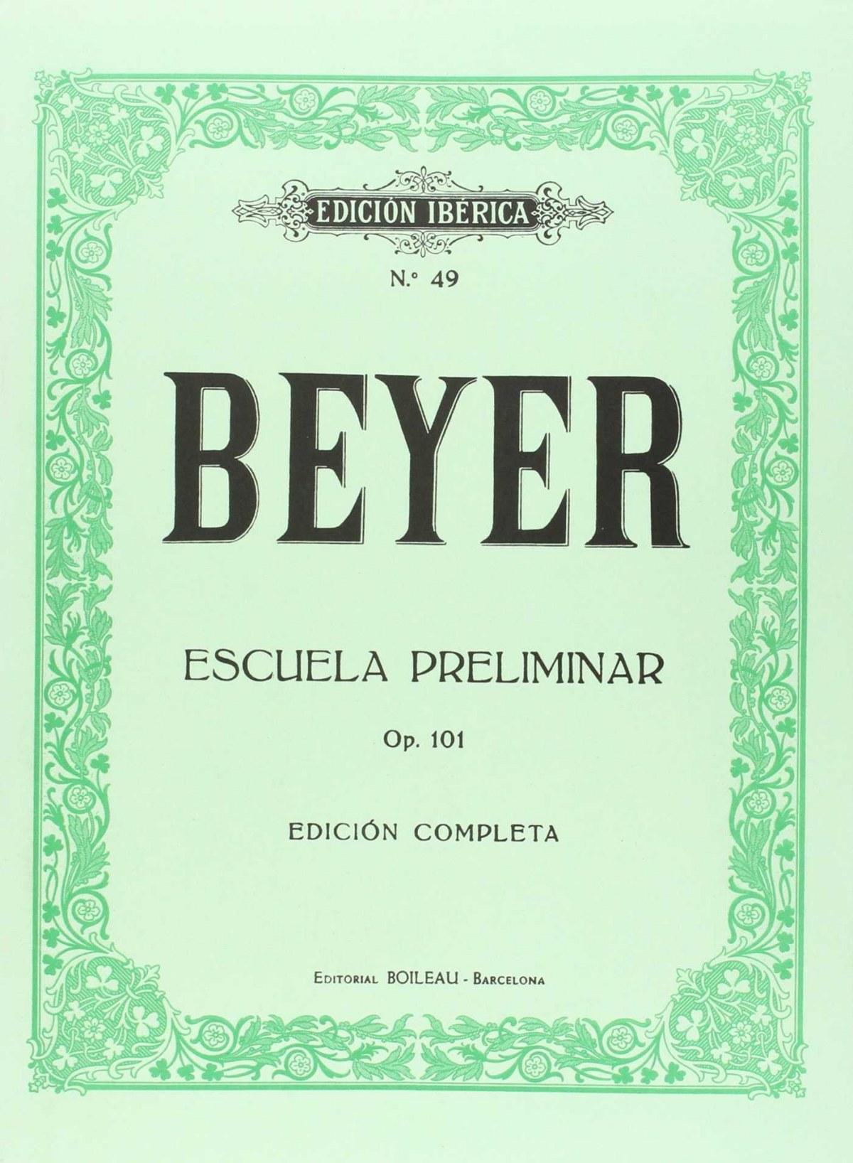 Escuela preliminar op.101 9788480203630