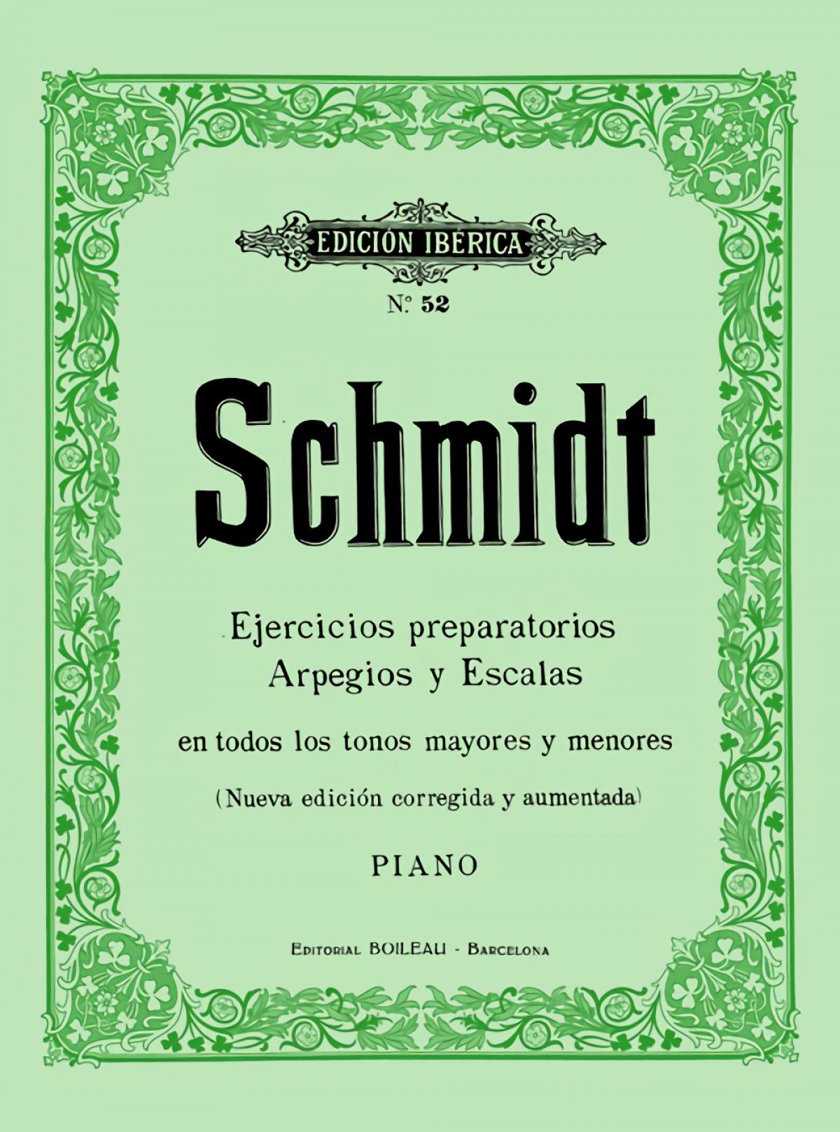Ejercicios preparatorios, escalas y arpegios Op.16 9788480203661