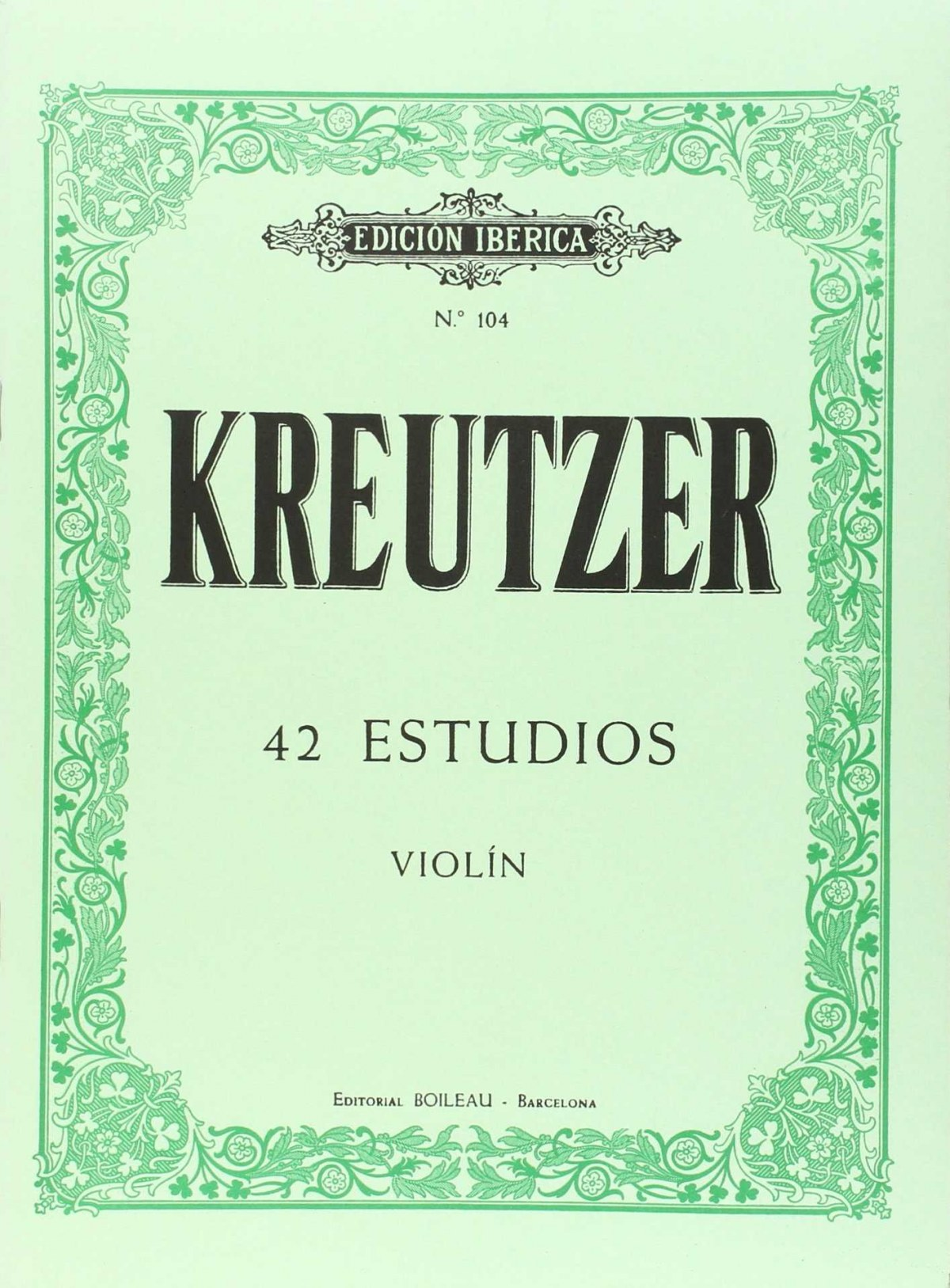 42 estudios violín 9788480204194