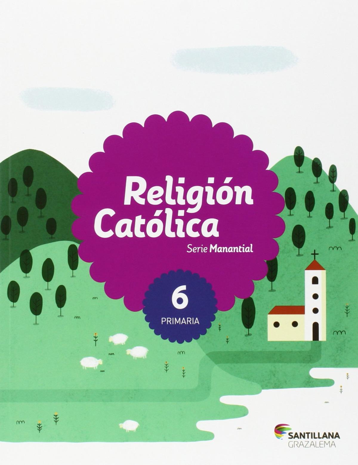 6PRI RELIGION ANDAL SERIE MANANTIAL ED15 9788483053737