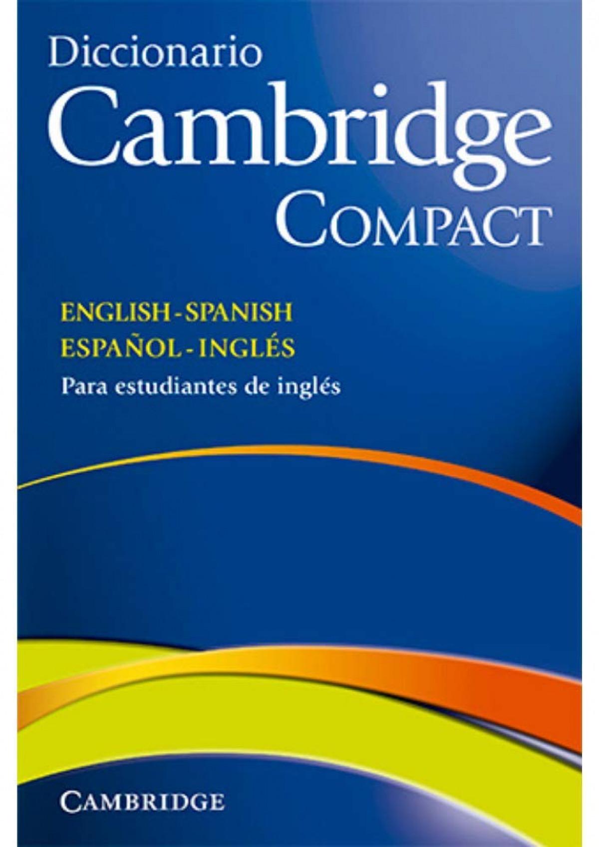 Diccionario compact Inglés/Español 9788483234754