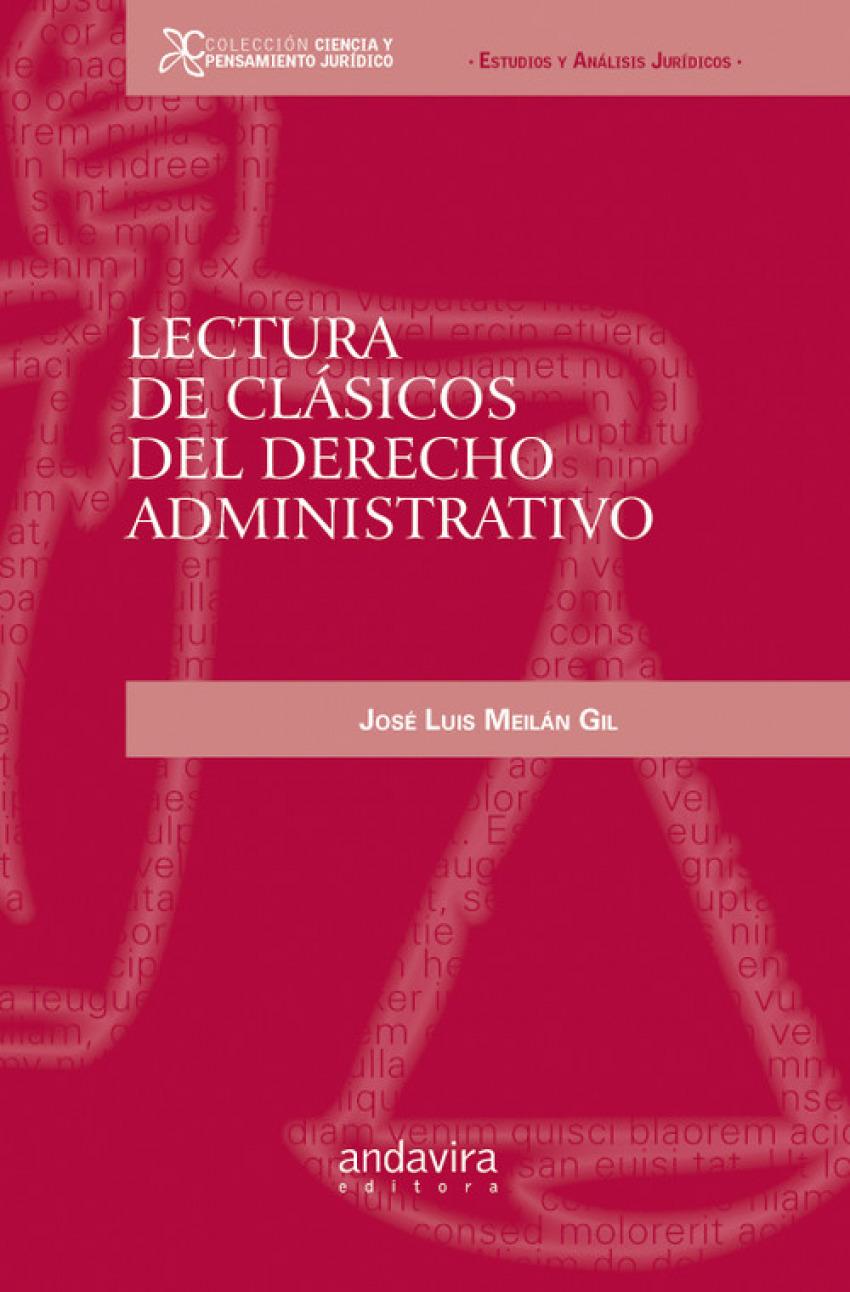 Lectura de clásicos del derecho administrativo 9788484086734