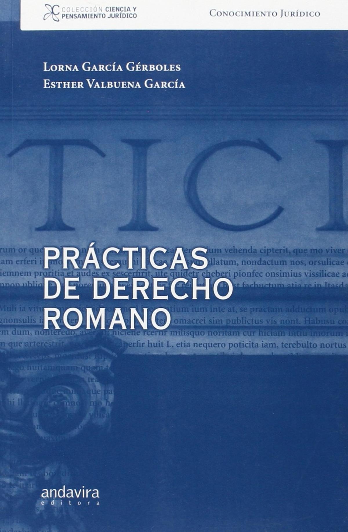 Practicas de derecho romano 9788484087205