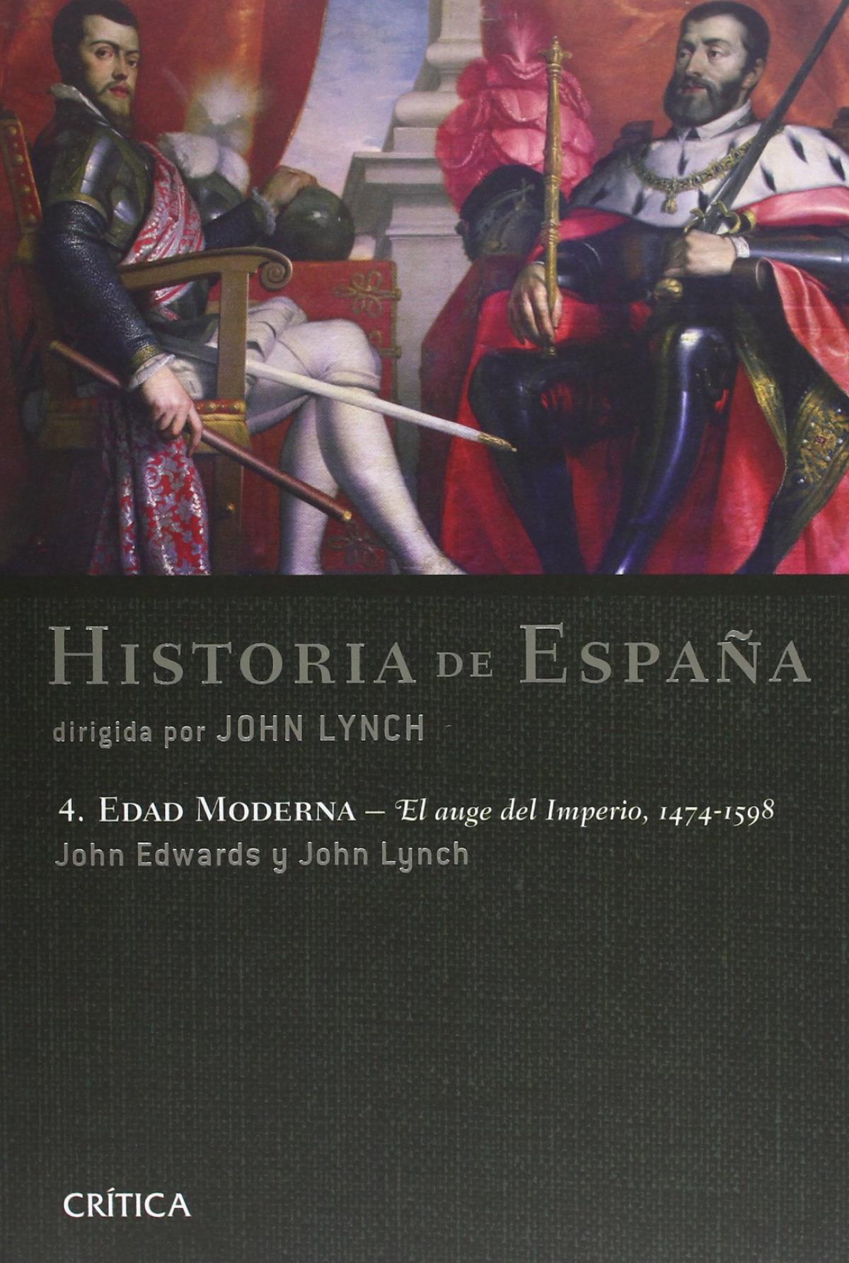 Historia de España Edad moderna El agua de imperio 1474-1598 9788484326243