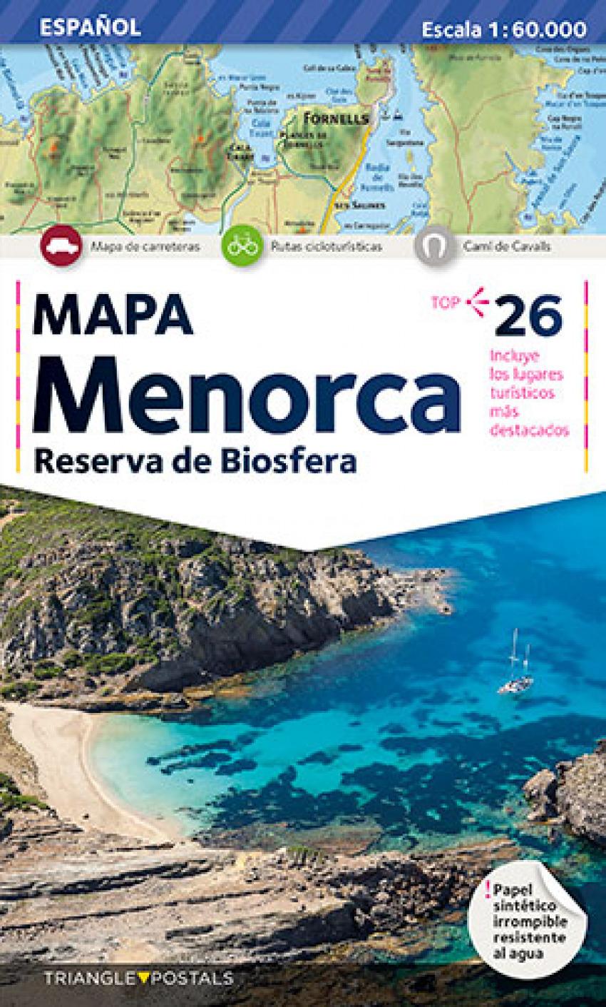 Mapa Menorca 9788484780762