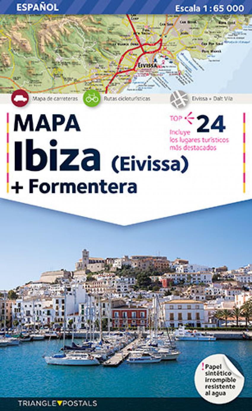 Mapa Ibiza-Formentera 9788484783251