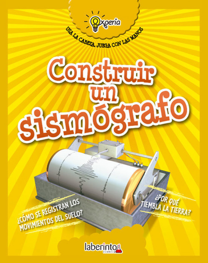 CONSTRUIR UN SISMÓGRAFO 9788484838944