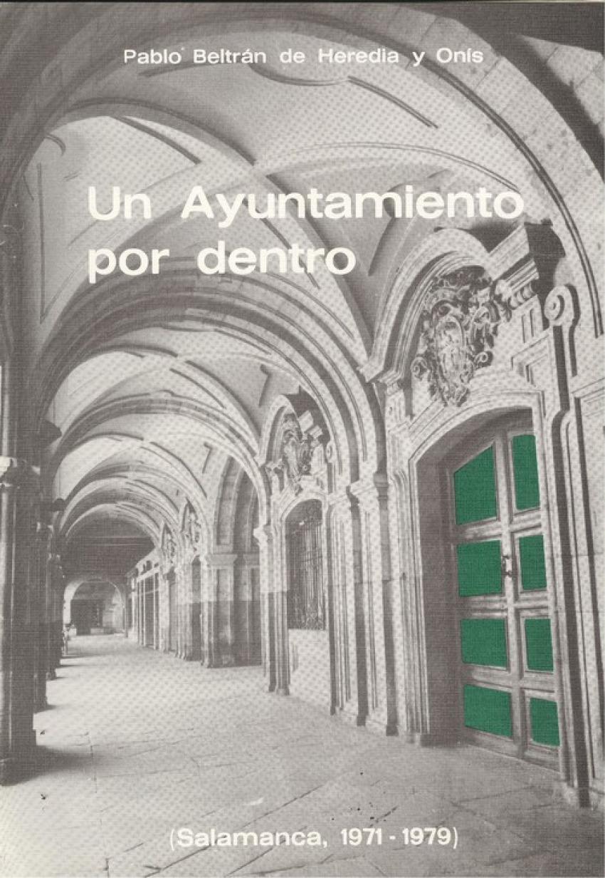 Un ayuntamiento por dentro 9788485664092