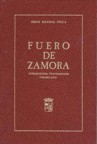 Fuero de Zamora 9788485664115