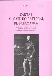 Cartas al cabildo catedral salamanca 9788485664993