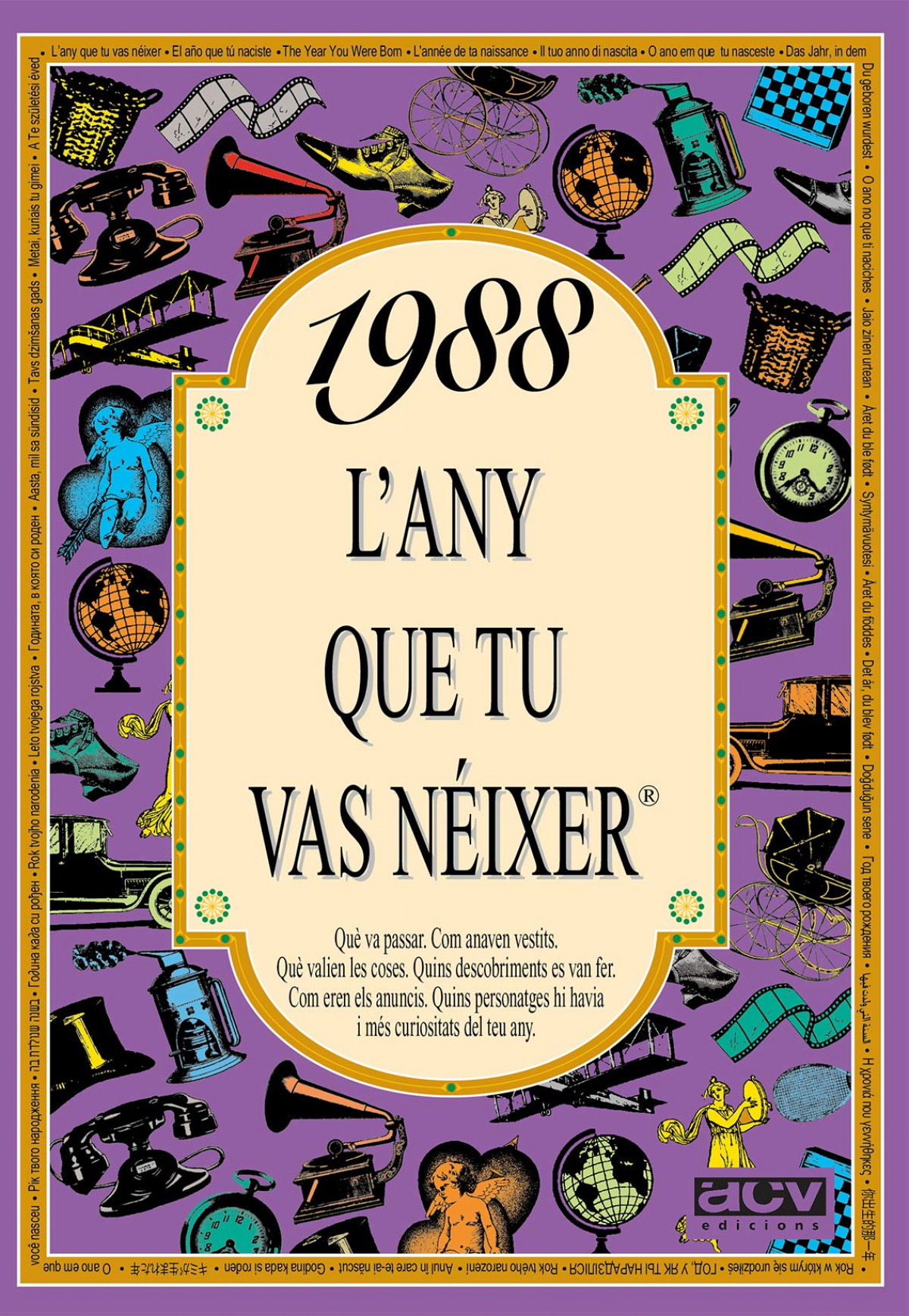 1988.L any que tu vas néixer 9788489589612