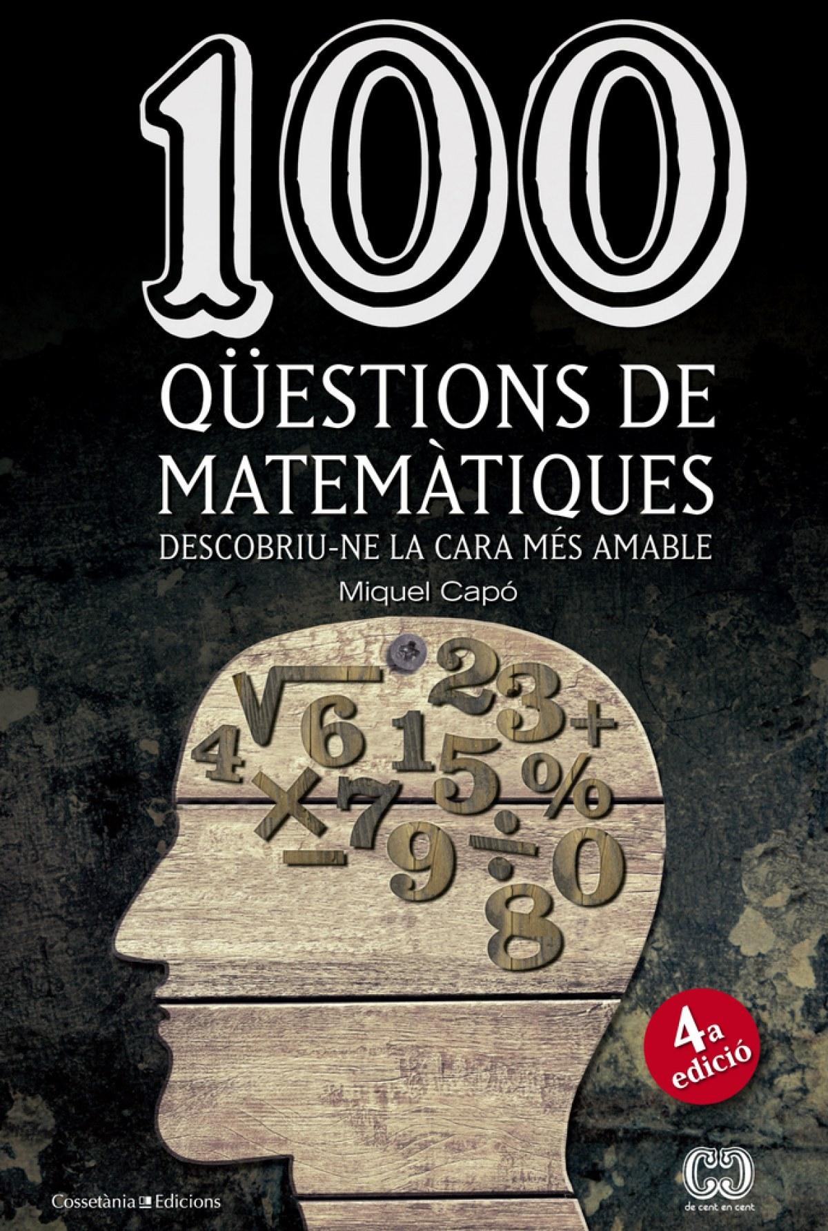 100 qüestions de matemàtiques 9788490341919