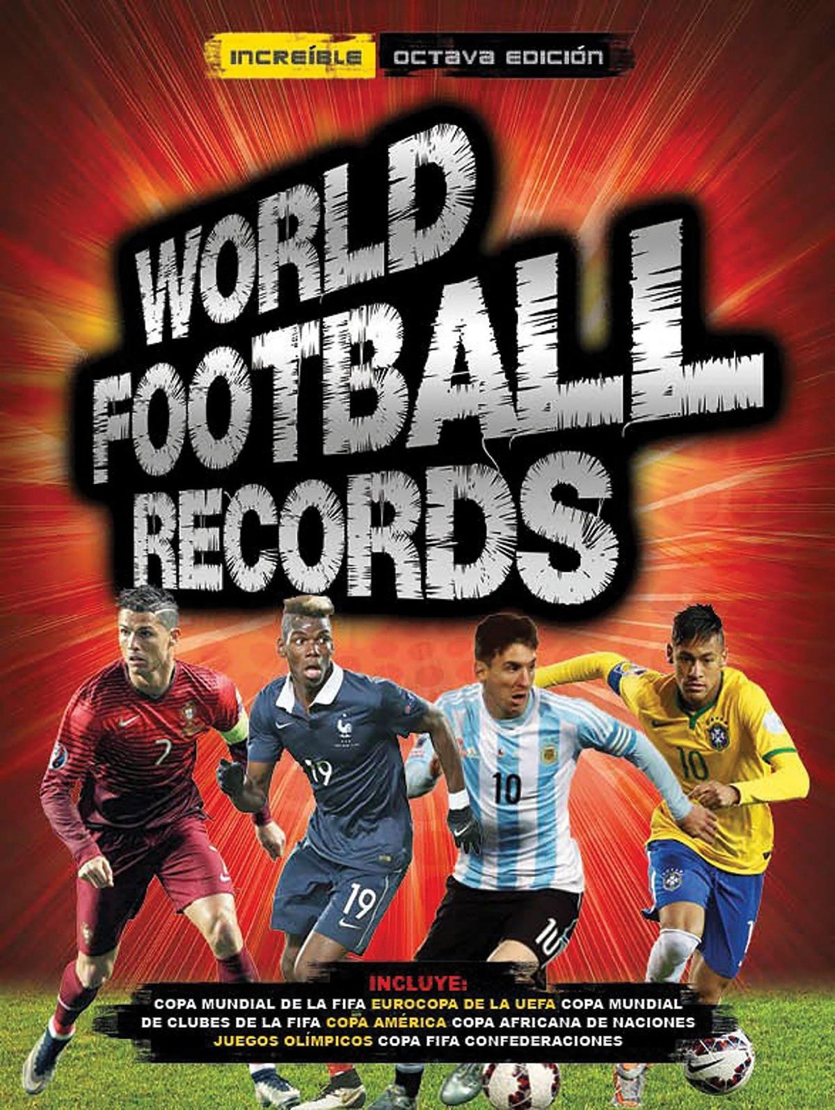 WORLD FOOTBALL RECORDS 2017 9788490436578