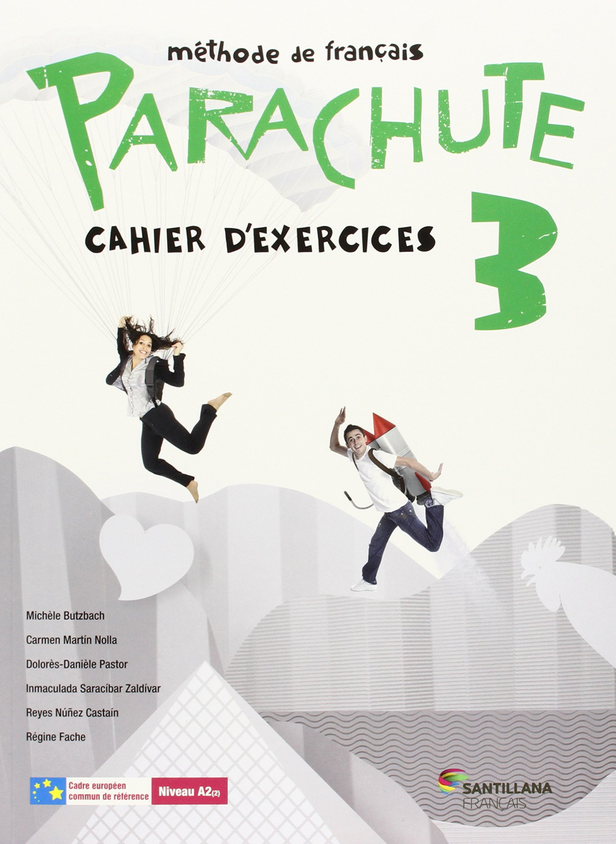 PARACHUTE 3 PACK CAHIER D EXERCICES 9788490490174