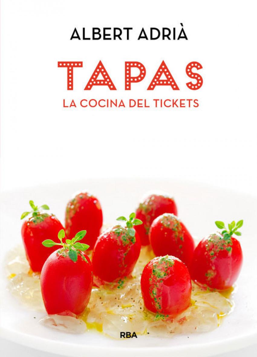 Tapas, la cocina del tickets 9788490560051
