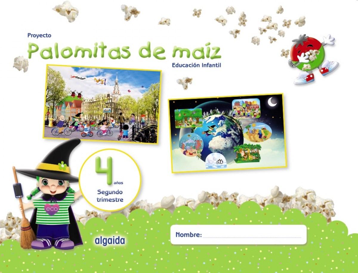 PALOMITAS DE MAIZ 4 AñOS 2o.TRIMESTRE 9788490678725
