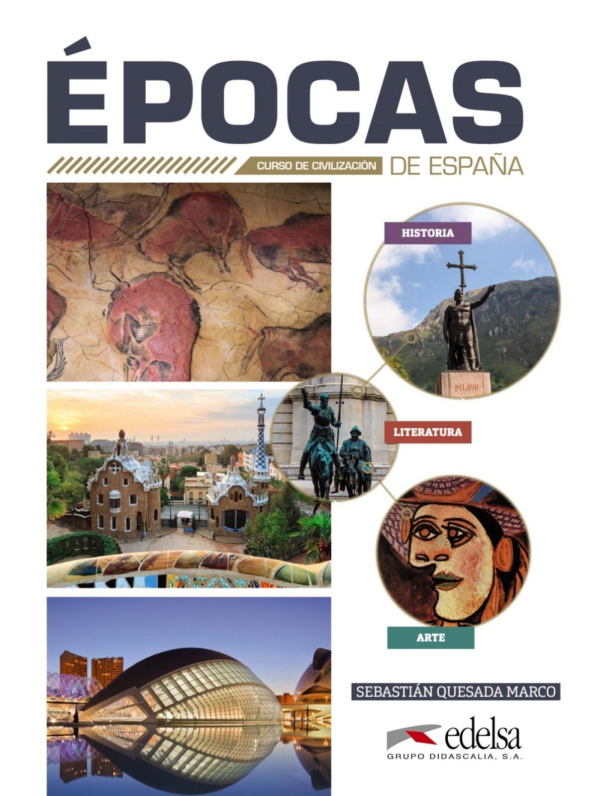 Épocas de España curso de civilización 9788490818053