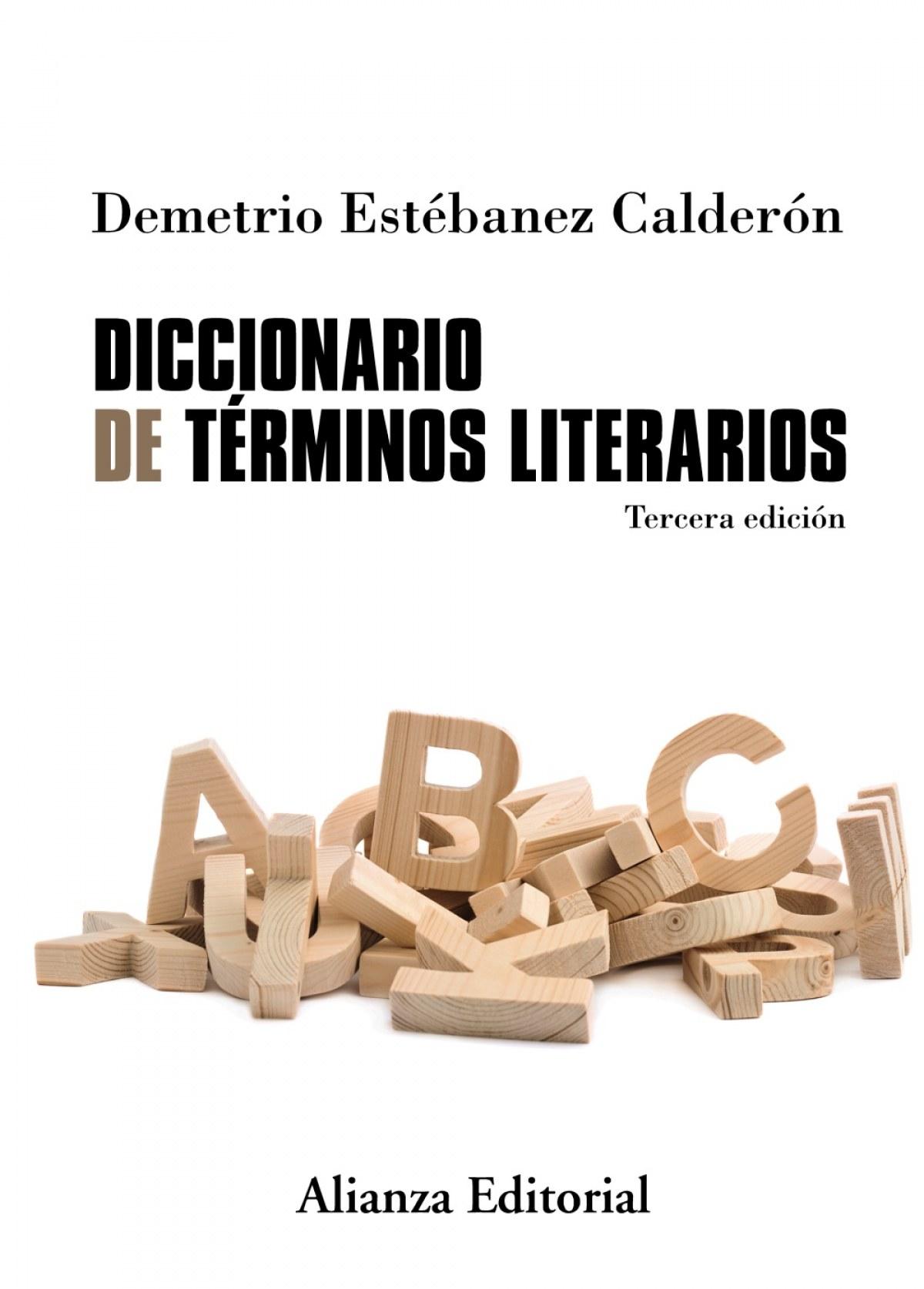 DICCIONARIO DE TéRMINOS LITERARIOS 9788491045243