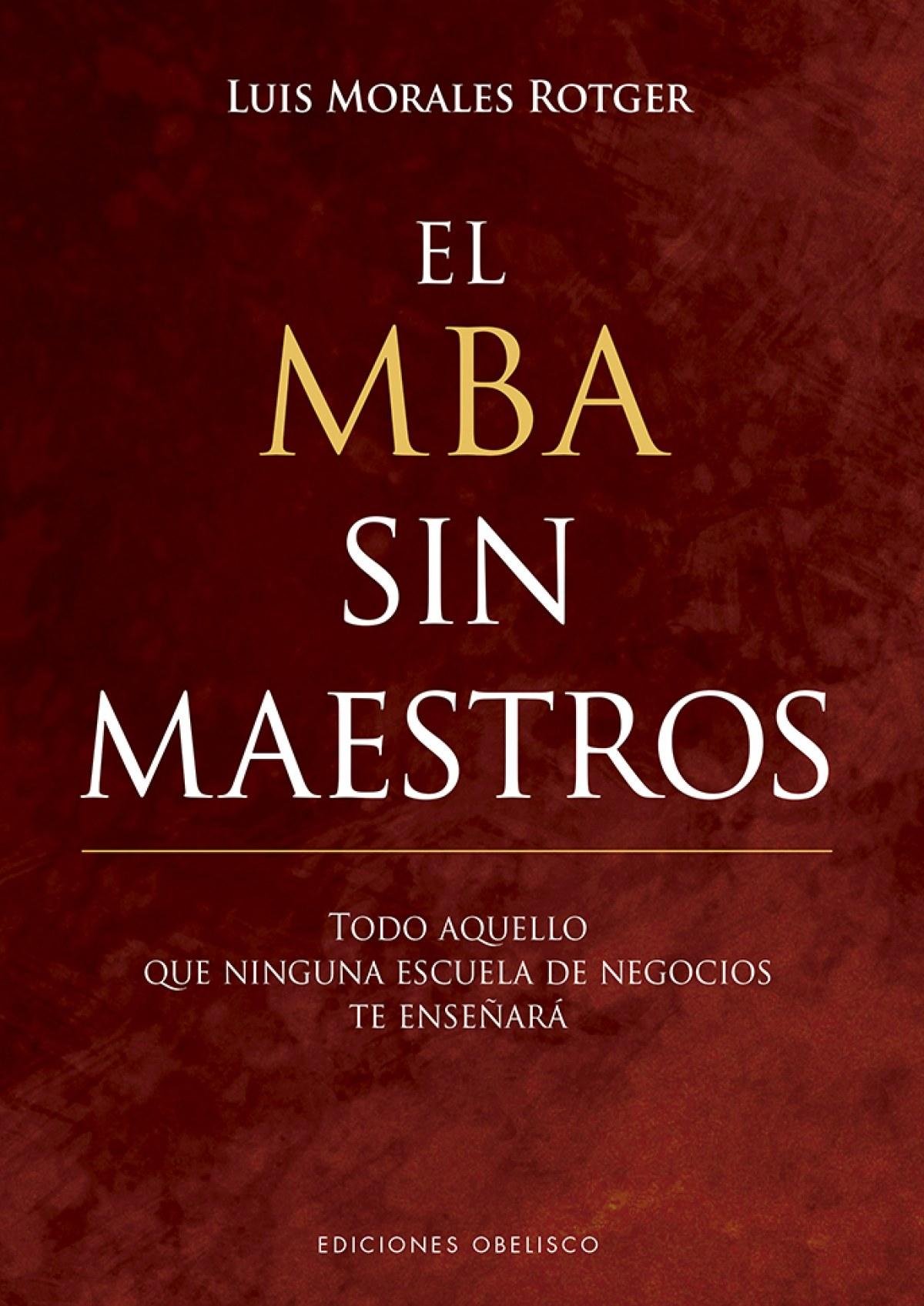 MBA SIN MAESTROS, EL 9788491113676