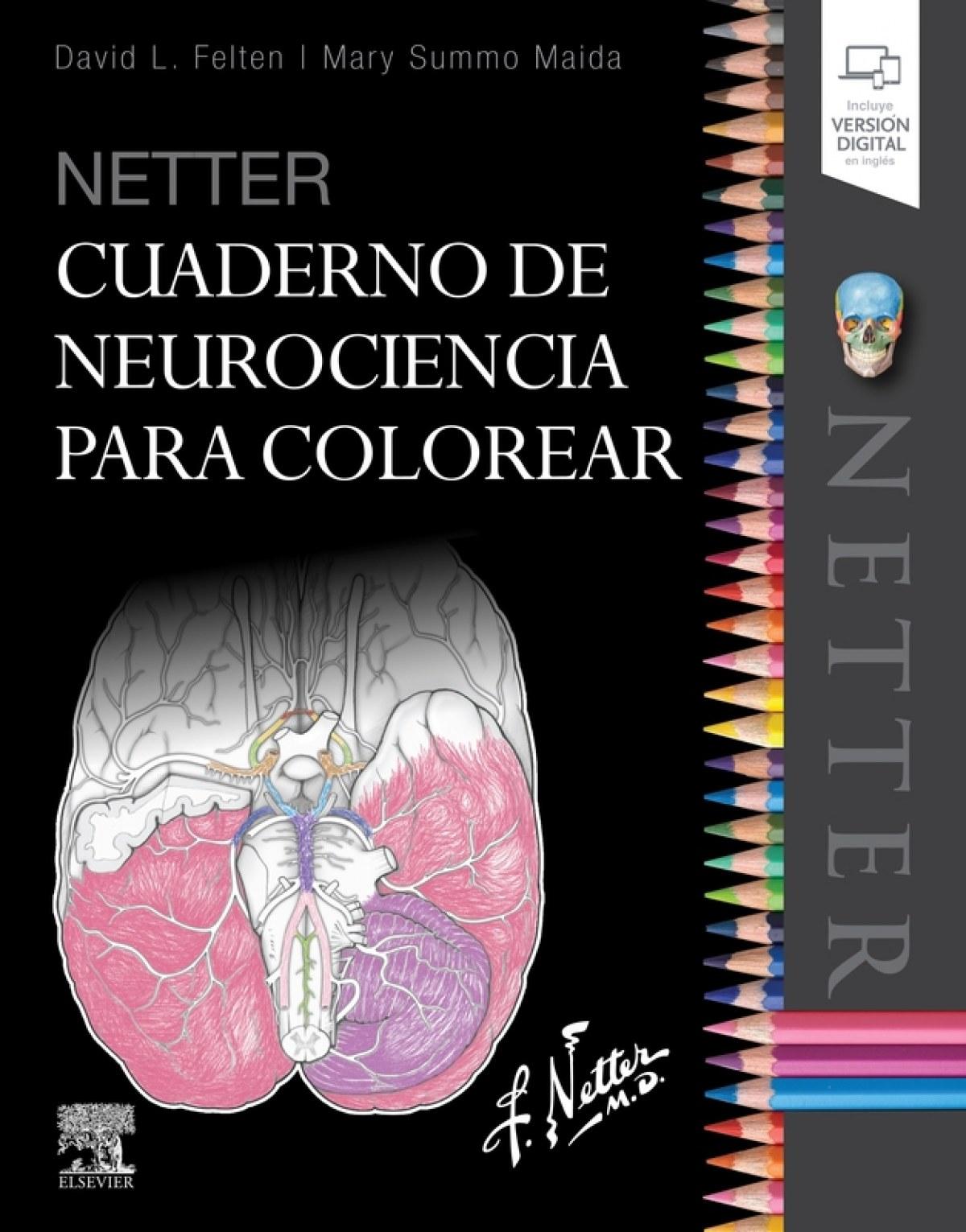CUADERNO DE NEUROCIENCIA PARA COLOREAR 9788491134572