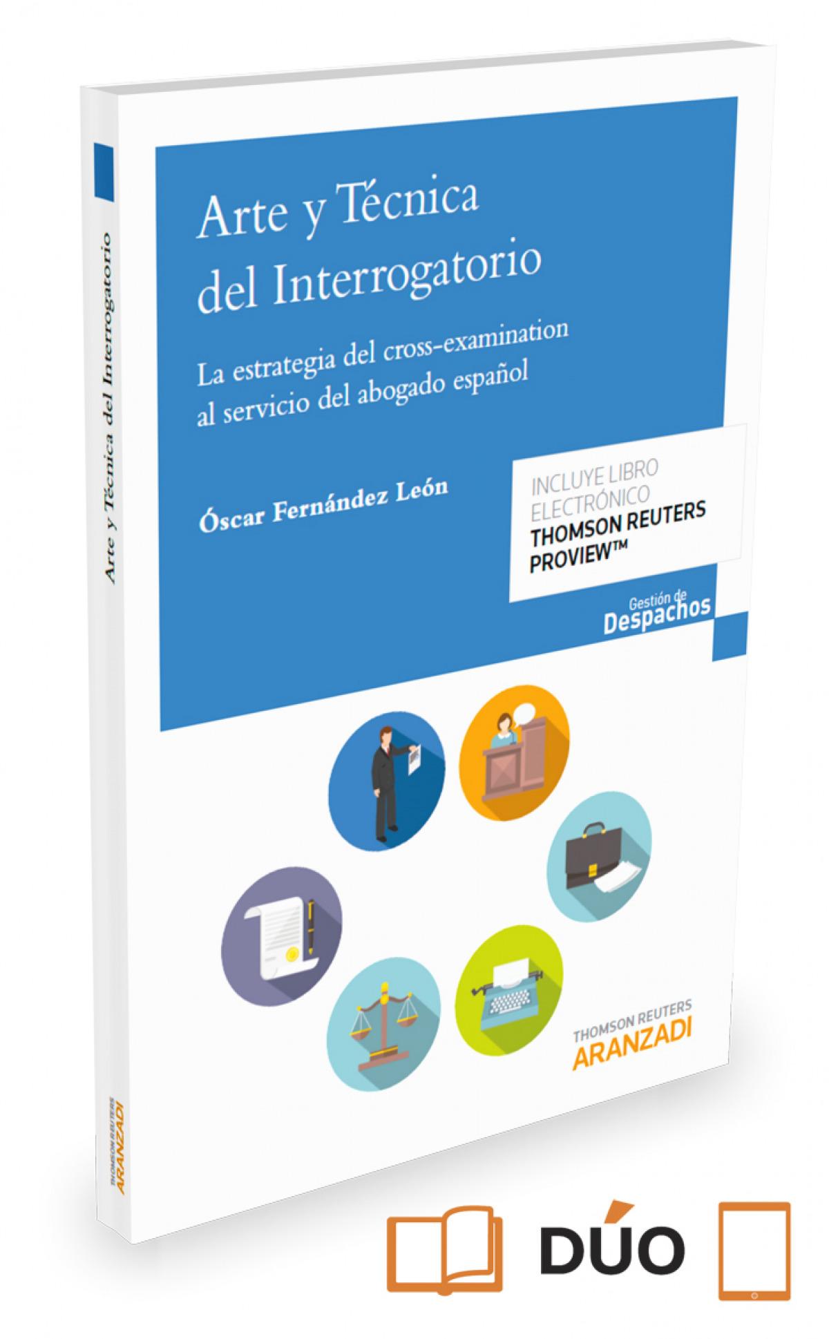 ARTE Y TECNICA DEL INTERROGATORIO (PAPEL + E-BOOK) 9788491356646