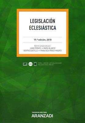 LEGISLACIÓN ECLESIASTICA 9788491975373