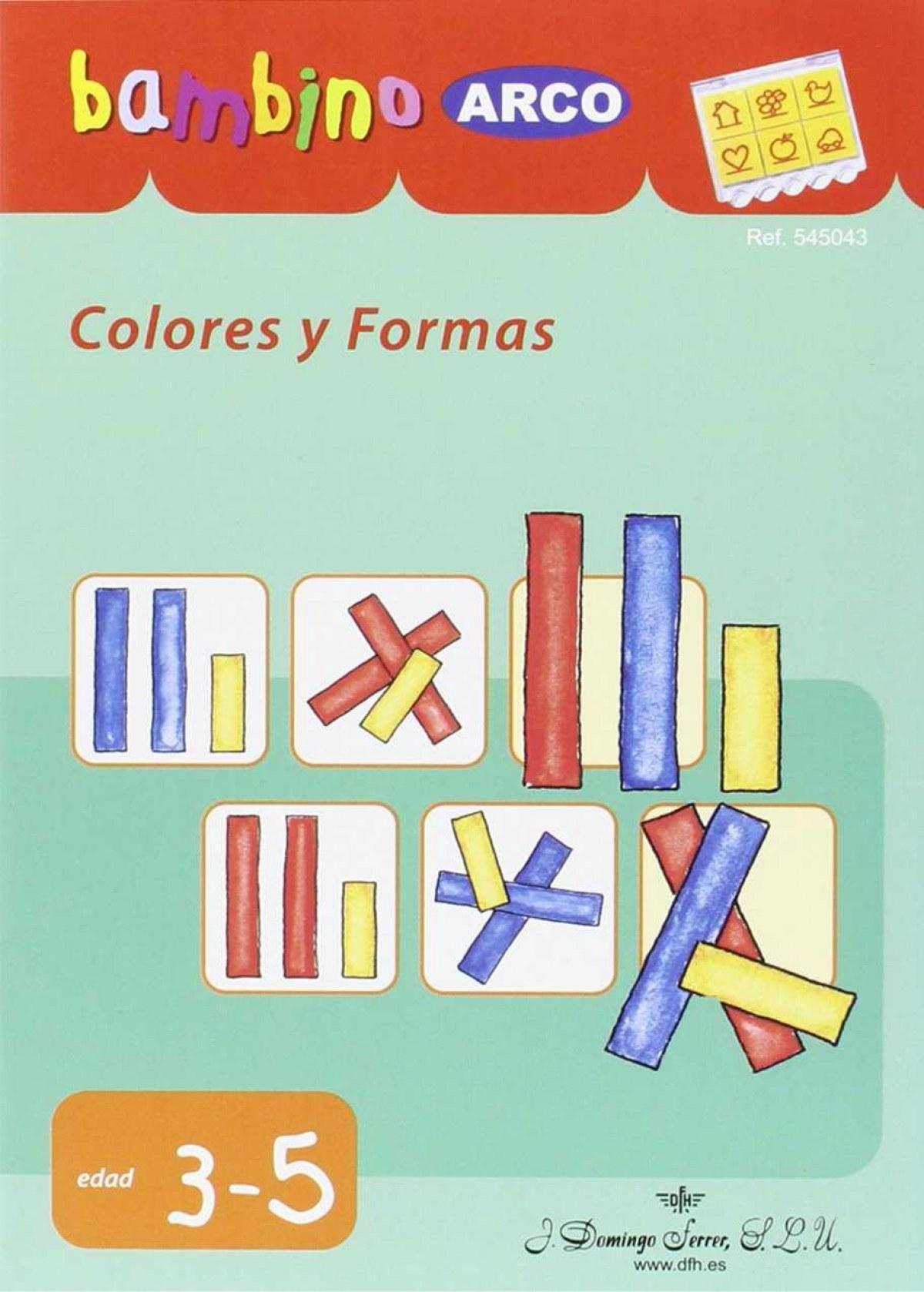 Colores y formas 9788492490790