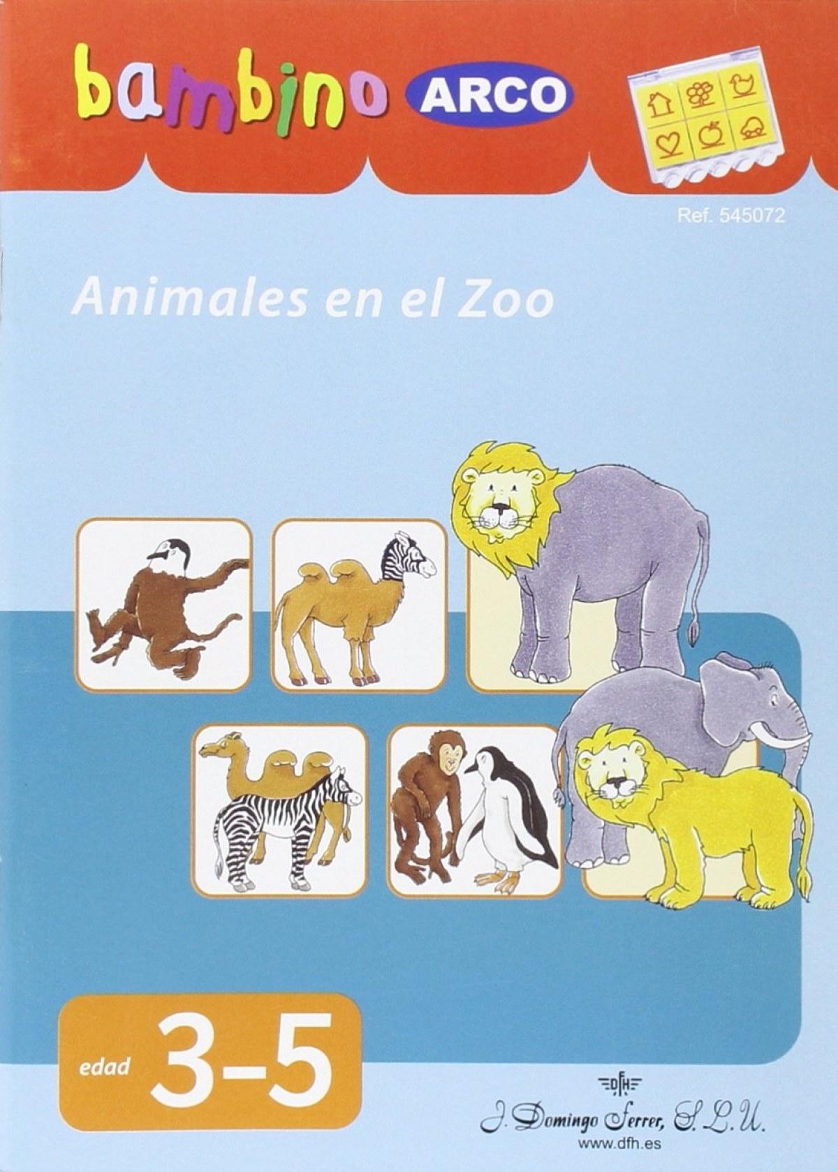 Animales en el zoo 9788492490899