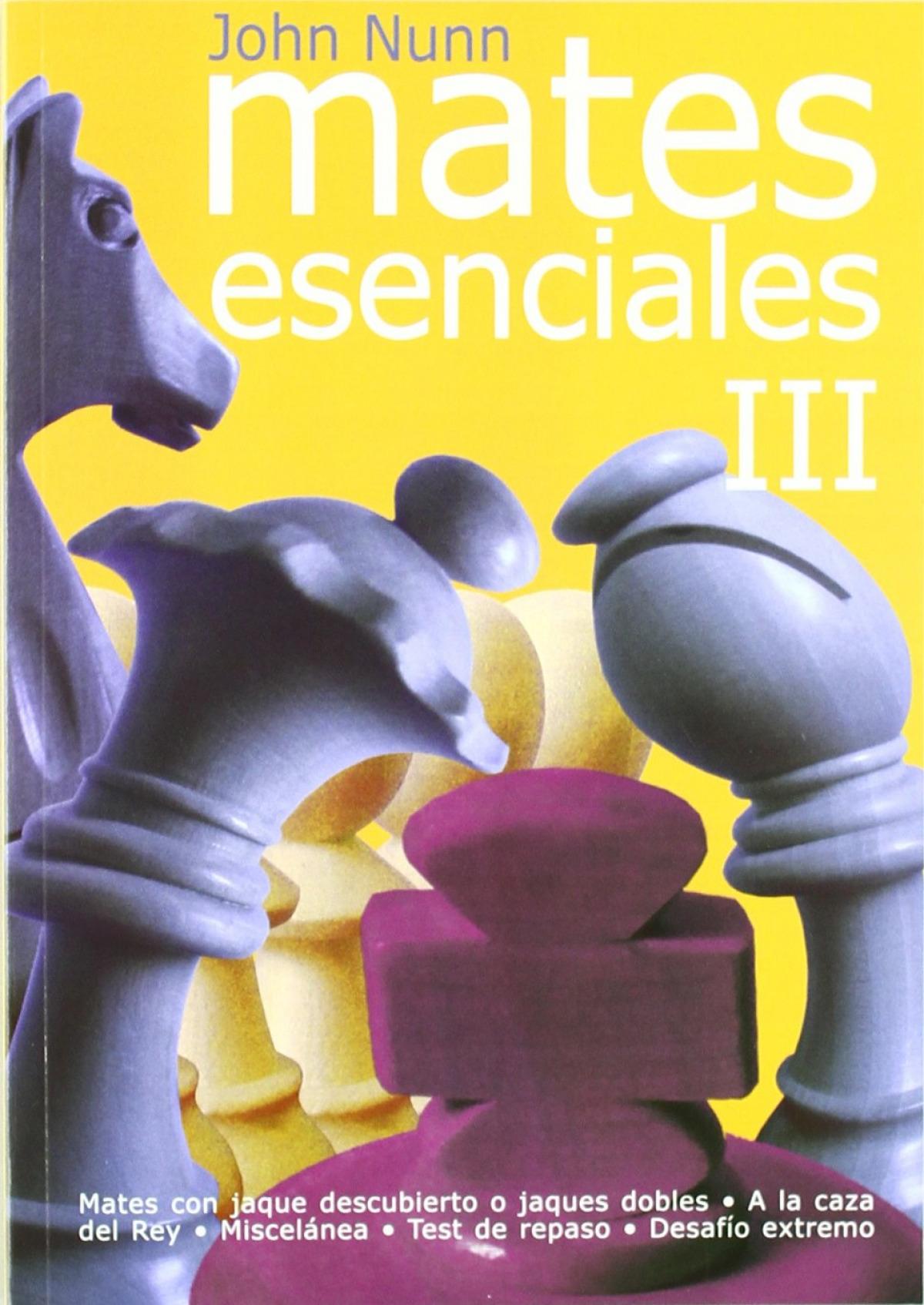 Mates esenciales III 9788492517312