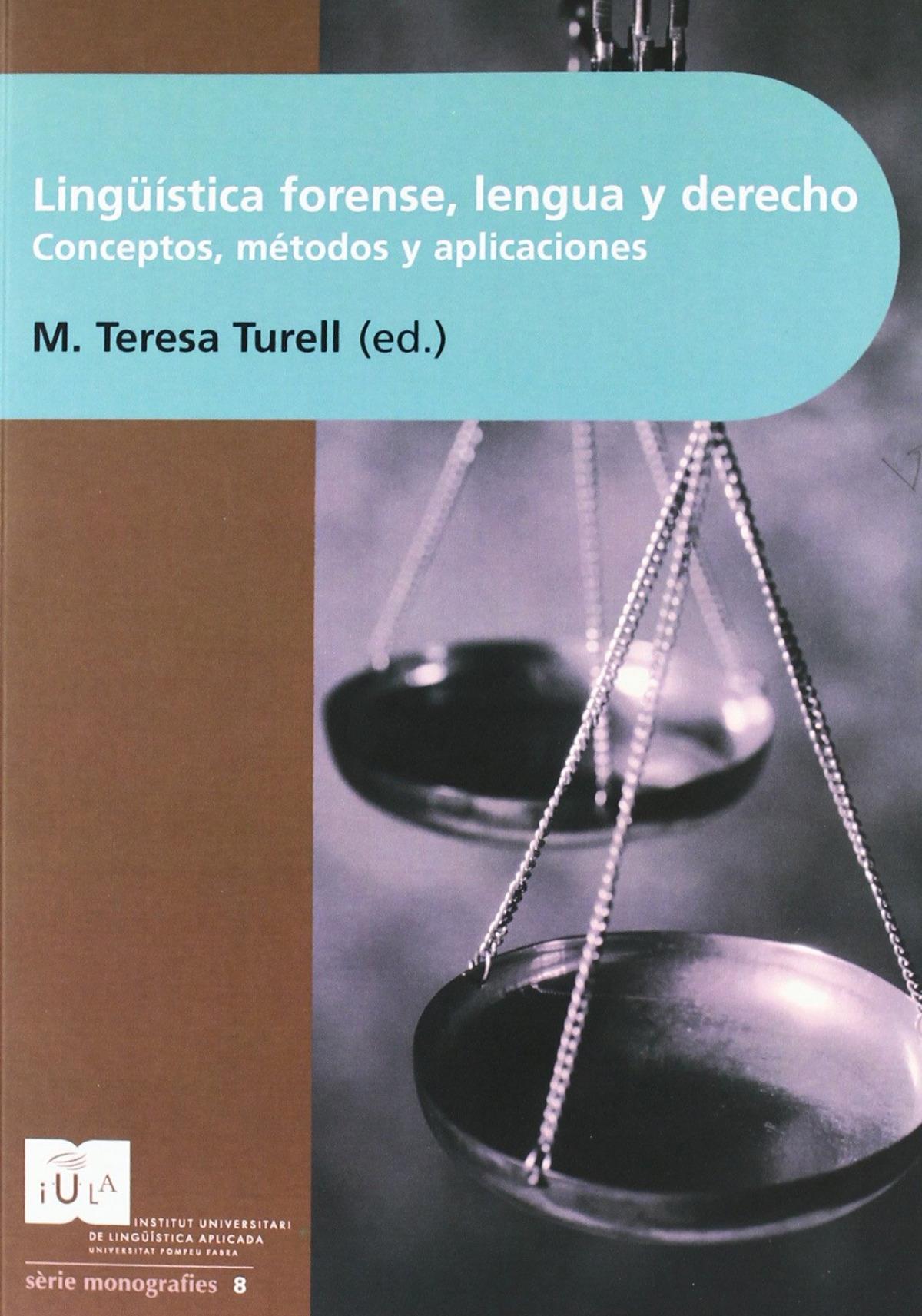 Lingüistica forense 9788493468538