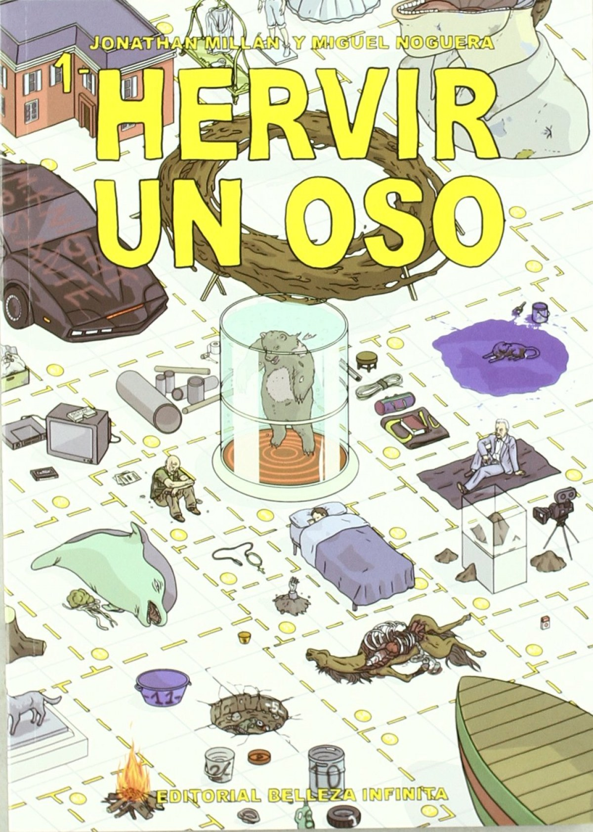 HERVIR UN OSO 9788493760359