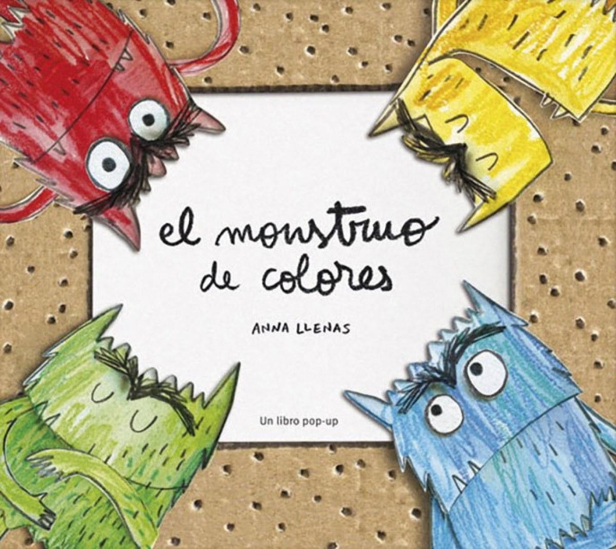 El monstruo de colores (despegable) 9788494157820