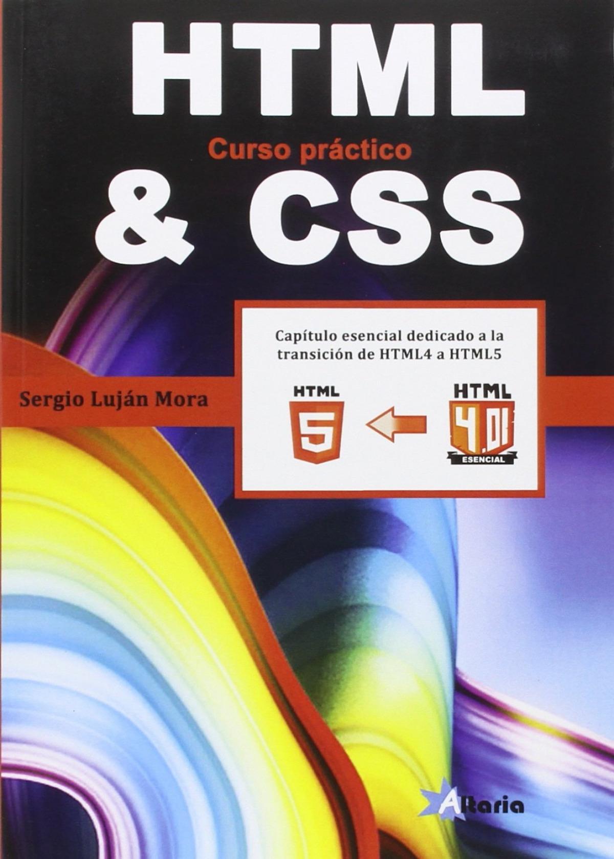 HTML &CSS CURSO PRáCTICO 9788494404948
