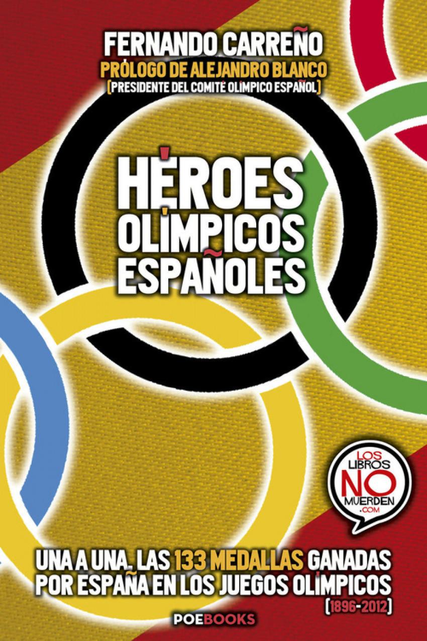 Héroes ol¡mpicos españoles 9788494554629