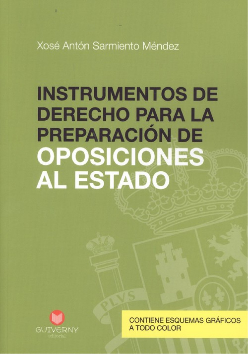 INSTRUMENTOS DE DERECHO PARA LA PREPARACIÓN DE OPOSICIONES DEL ESTADO 9788494559273
