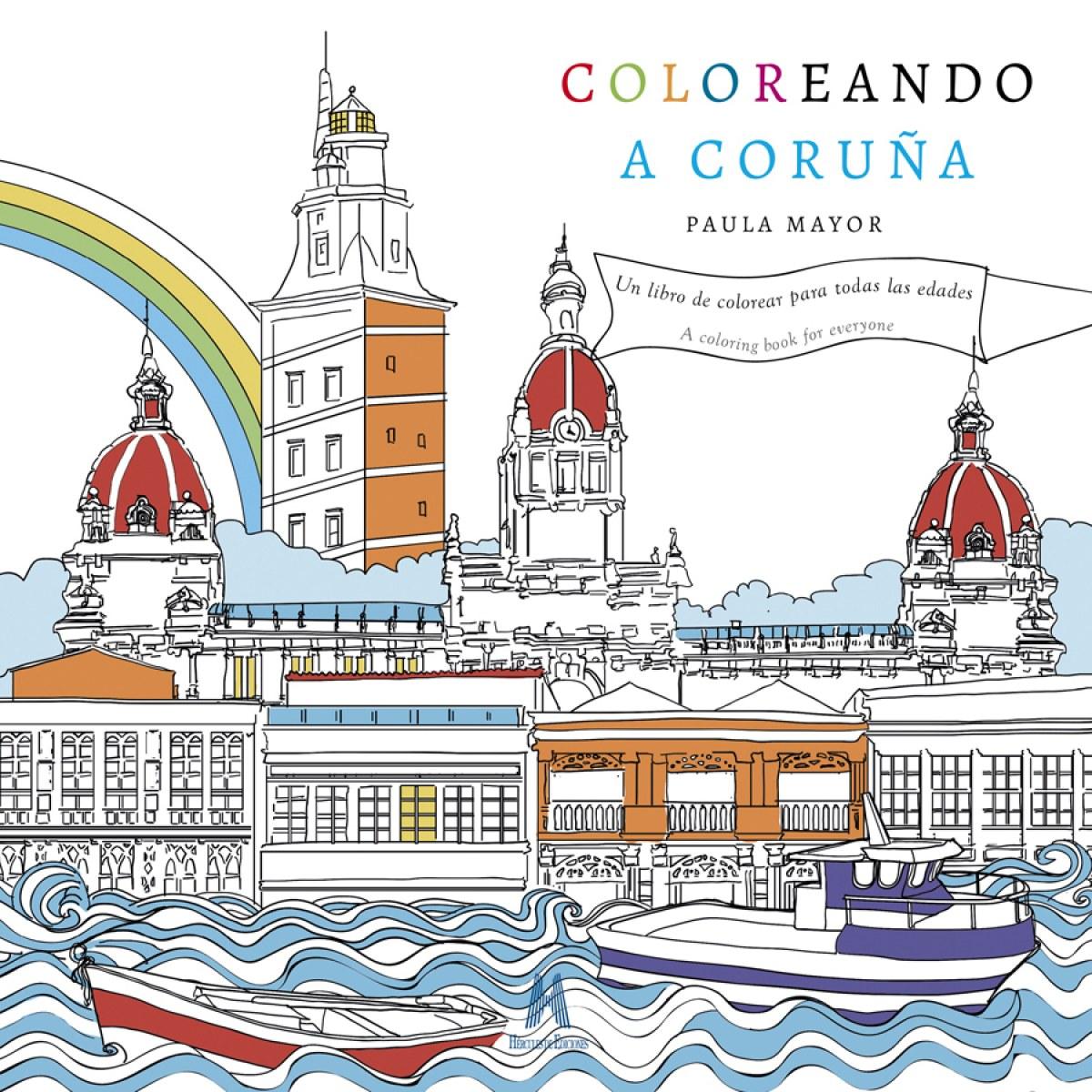 COLOREANDO A CORUñA 9788494777011
